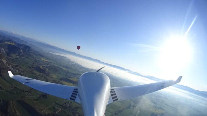 Bautismo de vuelo en avioneta