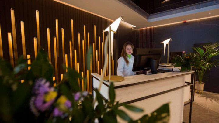 Hotel Centric New check-in counter